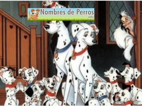Nombres de perros 101 dálmatas